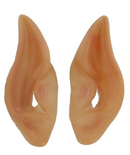 Latex Alien Elf Fairy Goblin Ears Cosplay LARP Unisex -