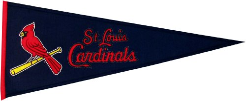 MLB St. Louis Cardinals Medium Pennant