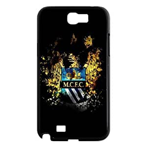 Soccer Barcelona Lionel Andr¡§ s Messi Football Club Classic Design Print Black Case With Hard Shell Cover for Samsung Galaxy Note 2 N7100