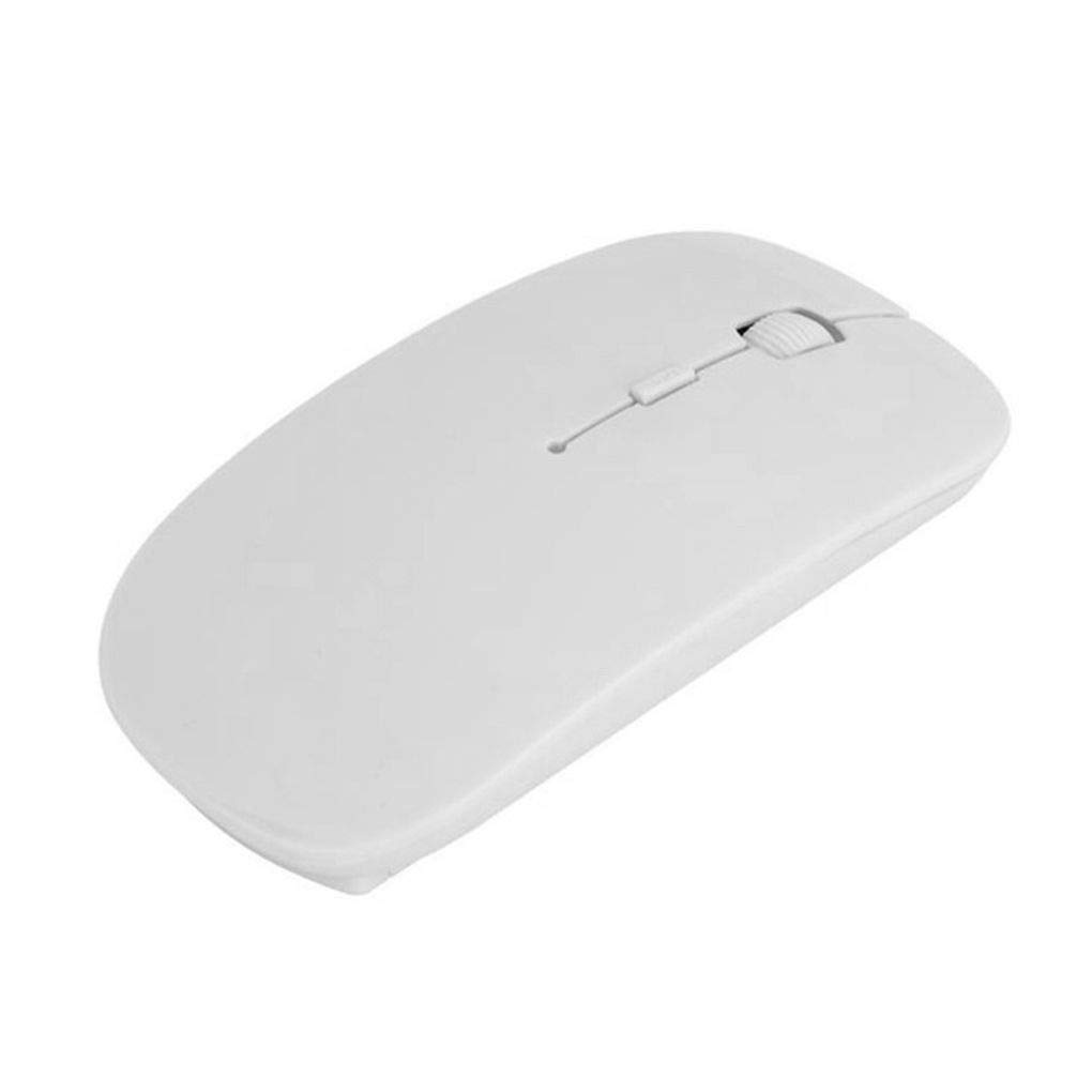 Babysbreath17 Souris sans fil 3 boutons ergonomique sans fil 2,4 GHz Souris PC de bureau portable ordinateur Windows Souris blanc