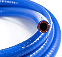 High Temperature Silicone Heater Hose for High Performance Extreme Temperature 0.50 ID 10 foot length and Multiple Pressure Ranges