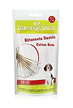 BambooStick Coton-Tige pour Chien Taille S/M SingleBamboo s/m