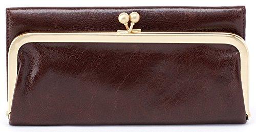 Hobo Womens Rachel Vintage Wallet Leather Clutch Purse (Espresso) by HOBO