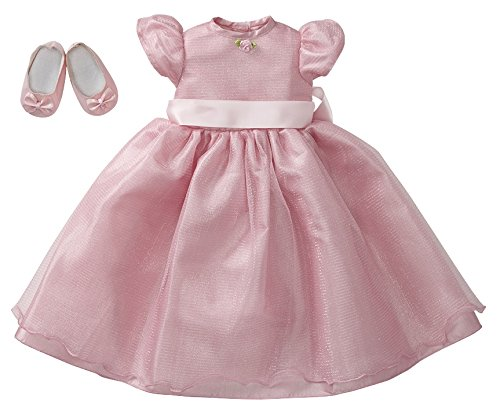 """Starpath Dolls 18"""" Doll Clothes Fairy Tale Pink Ball Gown, Fits American Girl and Our Generation"""