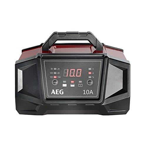 AEG Automotive 158008Atelier Chargeur WM A pour batteries 6et 12V, avec fonction de démarrage automatique, ce, IP 20, 10A