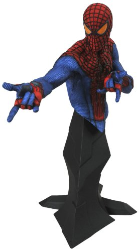 Diamond Select Toys Amazing Spider-Man Movie: Spider-Man Resin Bust (Resin Spider Man)