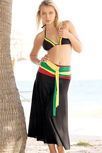 InGear Rasta Collection Women's 8 Way Dress Cover Up