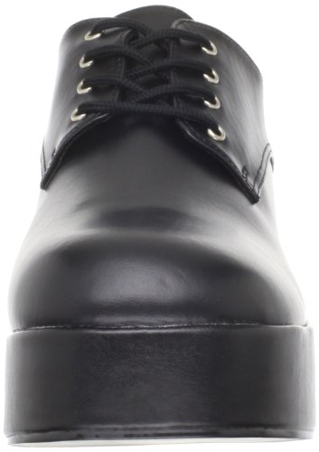 Funtasma By Pleaser Mens Jazz-02 Platform Oxford Black In Poliuretano