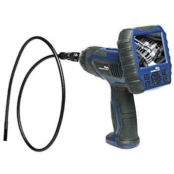 Wireless Inspection Camera with Detachable LCD Monitor and Built-in DVR