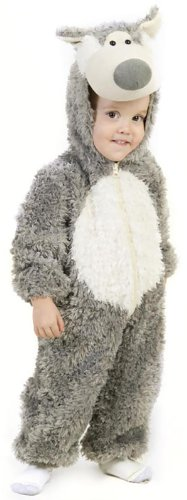 Big Bad Wolf Newborn Costume (Princess Paradise Child's Big Bad Wolf Deluxe Costume, As Shown, X-Small)