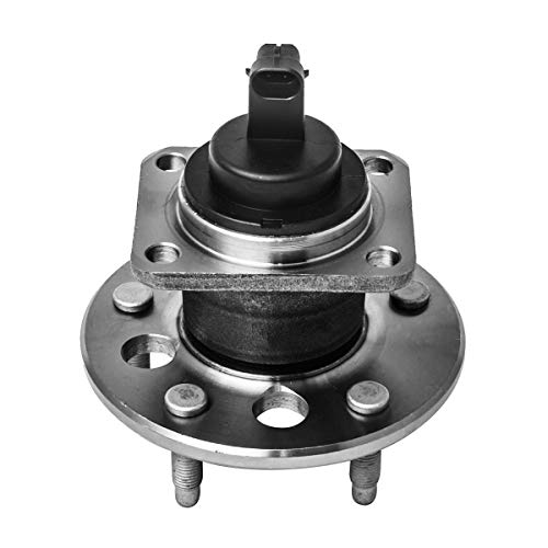 Rear Wheel Hub and Bearing Assembly Left or Right Compatible Buick LeSabre Lucerne Riviera Cadillac DTS Allante DeVill Chevrolet Malibu Oldsmobile Cutlass Pontiac AUQDD 512003 [ 5 Lug W/ABS ]