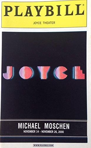 Michael Moschen Joyce Theater Playbill (November 14-26, 2000)