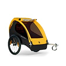 Burley Bee Child Bike Trailer Review
