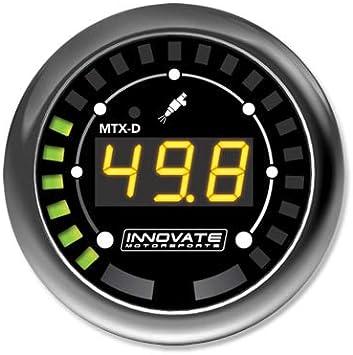 Innovate 3917 MTX-D Fuel Pressure Gauge 0-145 PSI 10 BAR w// Low Press Warning