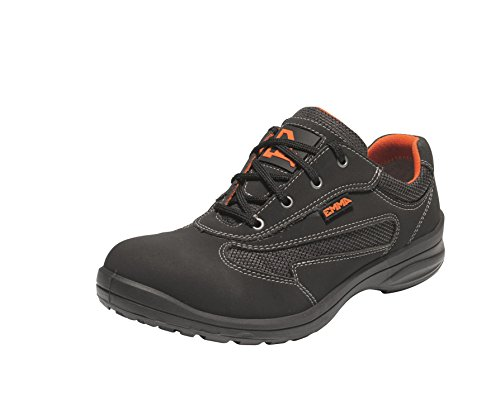 EMMA Safety - Zapato de mujer S1P para trabajo con puntera de seguridad ANNE (37)