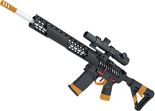 Evike EMG F1 Firearms BDR-15 3G AR15 Full Metal Airsoft AEG Rifle (Color: Black/Red Selector/Magpul MOE Stock)