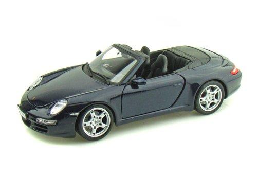 - Porsche 911 Carrera S Cabriolet Blue 1:18 Scale Maisto Die Cast Model Car