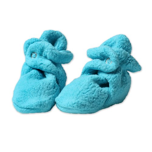 Zutano Newborn Unisex-Baby Fleece Bootie, Pool, 18 Months by Zutano