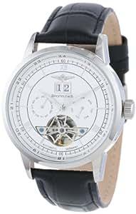 Breytenbach BB8645WW-86451 - Reloj de caballero automático, correa de piel color negro