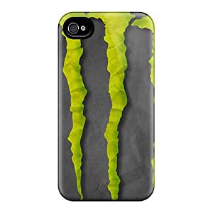 Iphone 4/4s KWn5296oHqZ Allow Personal Design Realistic Monster Series Excellent Hard Cell-phone Case -JonathanMaedel