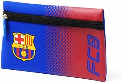 Official Football Merchandise colores soporte de neopreno cremallera Estuche, Barcelona FC: Amazon.es: Deportes y aire libre