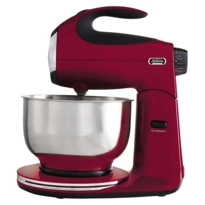Sunbeam Heritage Series Stand Mixer - Red (Sunbeam Portable Mixer compare prices)