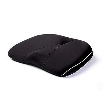AA-SS-Chair Pads-Anti-decubitus cushion Asiento Universal para el automóvil Cabeza Cuello reposacabezas Cojín Reposacabezas Cuero de PVC Espuma de Memoria ...