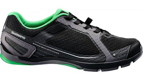 Shimano Unisex SH-CT41 Cycling Shoes, Black, 44.0