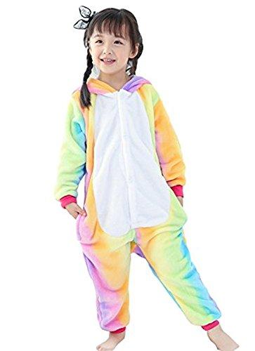 JollyCreek Unisex Children Unicorn Pyjamas Halloween Cosplay Kids Onesie (Halloween Baby Sleepsuit)