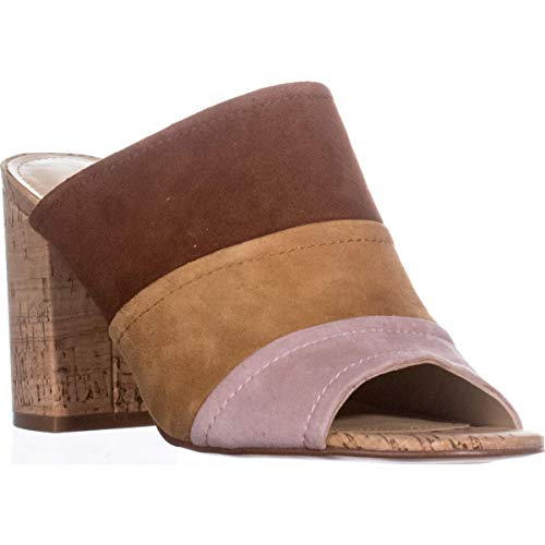 Mules Multi Marc Brown Leder Leger Offener Suede Fisher Frauen Zeh Prenna ffORa0