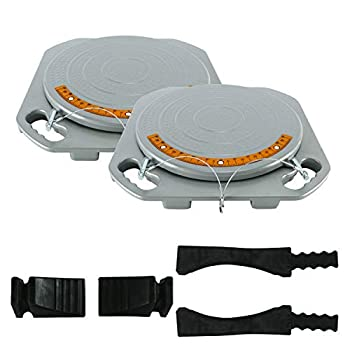 Image of 8MILELAKE Car Truck Front End Wheel Alignment Turn Plate