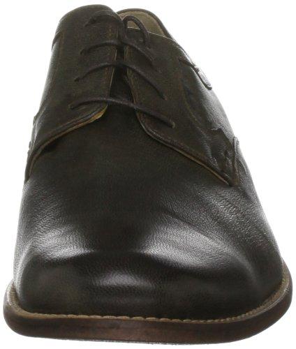 Hush Puppies - Zapatos de cuero para hombre Marrón