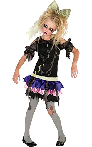 [Zombie Doll Costume, Small] (Halloween Costumes Scary Doll)