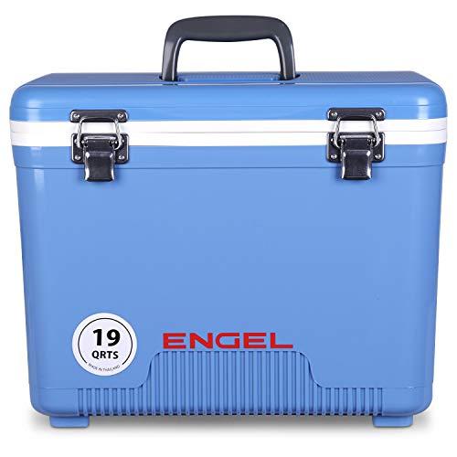 ENGEL Cooler/Dry Box 19 Qt - Blue (Unique Ice Chest)