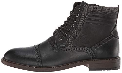 Pictures of Steve Madden Men's Trentin Ankle Boot TREN01M1 Black Leather 5