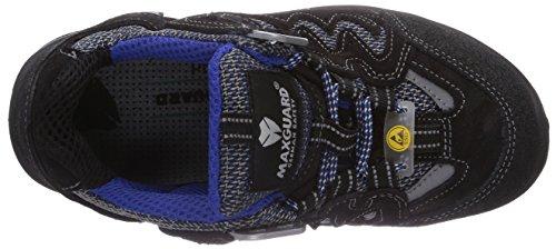 Multicolore Blue Schwarz Adulte Mixte Maxguard Blau Mehrfarbig peac P390 Chaussures Sécurité de Sxxf4q8w