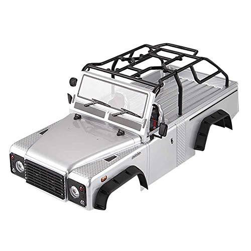 - GoolRC Killerbody Marauder Ⅱ RC Car Body Shell Kit w/ Light Buckets for 323mm Wheelbase Traxxas TRX-4 Chassis RC Crawler Off-Road