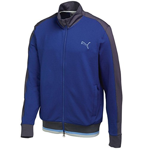 Puma Golf Men's PWRWARM Golf Track Jacket, Small, Sodalite Blue-Periscope
