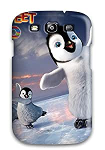 Top Quality Rugged Happy Feet Two Skatings People Movie Case Cover For Galaxy S3 7046800K34907943