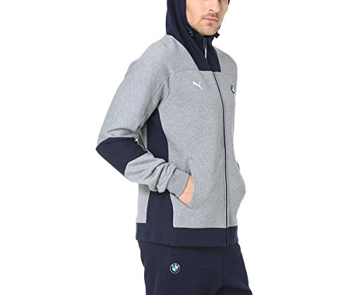 Ms Chinã Hooded Puma Bmw Jacket Sweat Gris CqPOfY5