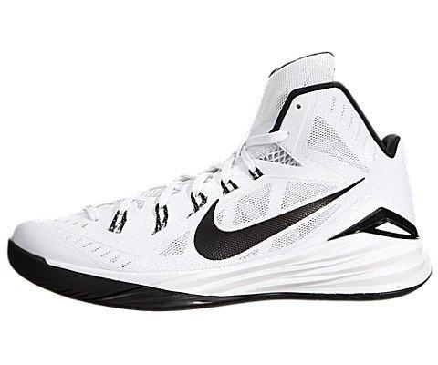 Nike Men Hyperdunk 2014 TB Basketball Shoe White/Black 10.5 D M US 653483-100