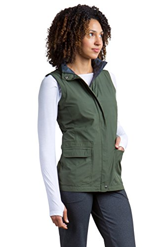 ExOfficio Women's FlyQ Vest, Nori, Large - Jersey Quilted Vest