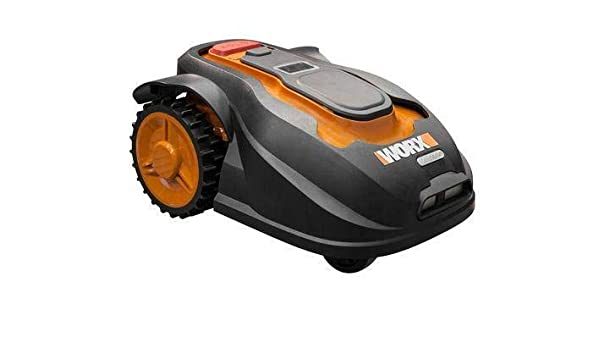 Worx WG757E Landroid - Robot cortacésped (tamaño M, hasta ...