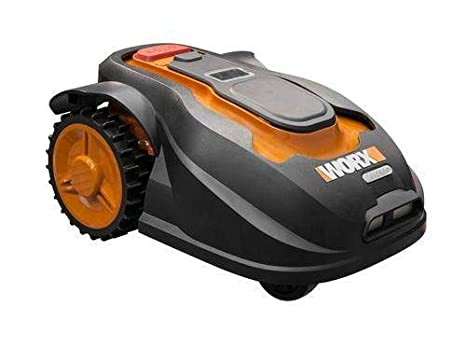 Worx WG757E Landroid - Robot cortacésped (tamaño M, hasta 800 m² ...