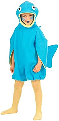 NET TOYS Traje Infantil de pez Disfraz niño: Amazon.es: Juguetes y ...