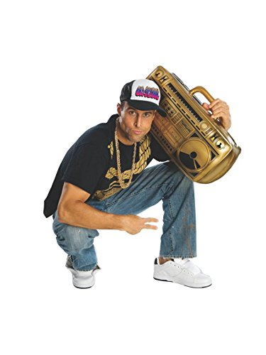 Rubie's Costume Novelty Inflatable Ghetto Blaster -