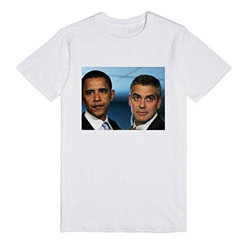 barack-obama-george-clooney-gi-T-Shirt
