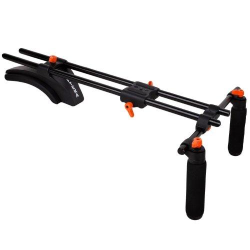 Opteka CXS-300 Dual-Grip Video Shoulder Stabilizer Support S
