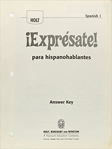 Amazon exprsate expresate para hispanoblantes teachers exprsate expresate para hispanoblantes teachers edition with answer key levels 1a1b1 1st edition fandeluxe Image collections