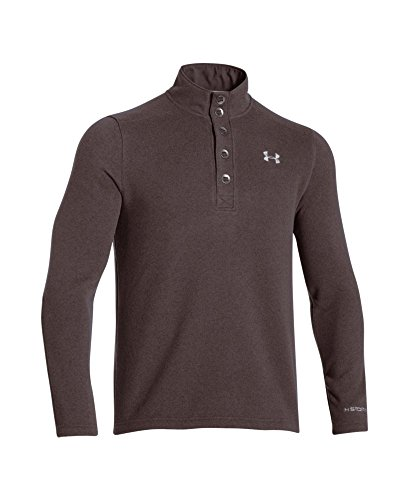 Outdoor Outerwear Mens - Under Armour Outerwear Under Armour Men's Specialist Storm Sweater, Mavericks Brown/Steel, Large